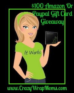 $100 Paypal or Amazon G.C Giveaway